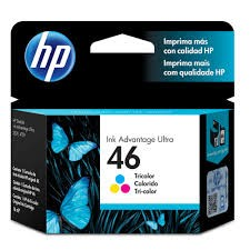 CARTUCHO HP 46 COLOR CZ638AL