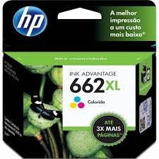 CARTUCHO HP 662XL COLOR CZ106AB