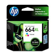 CARTUCHO HP 664XL COLOR F6V30AB