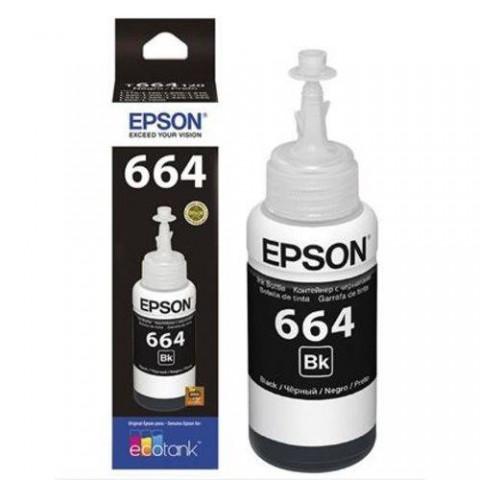 REFIL EPSON 664 T664120 PRETO