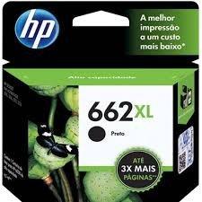 CARTUCHO HP 662XL PRETO CZ105AB